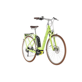 Cube Elly Ride Hybrid 500 Elcykel City Easy Entry grön